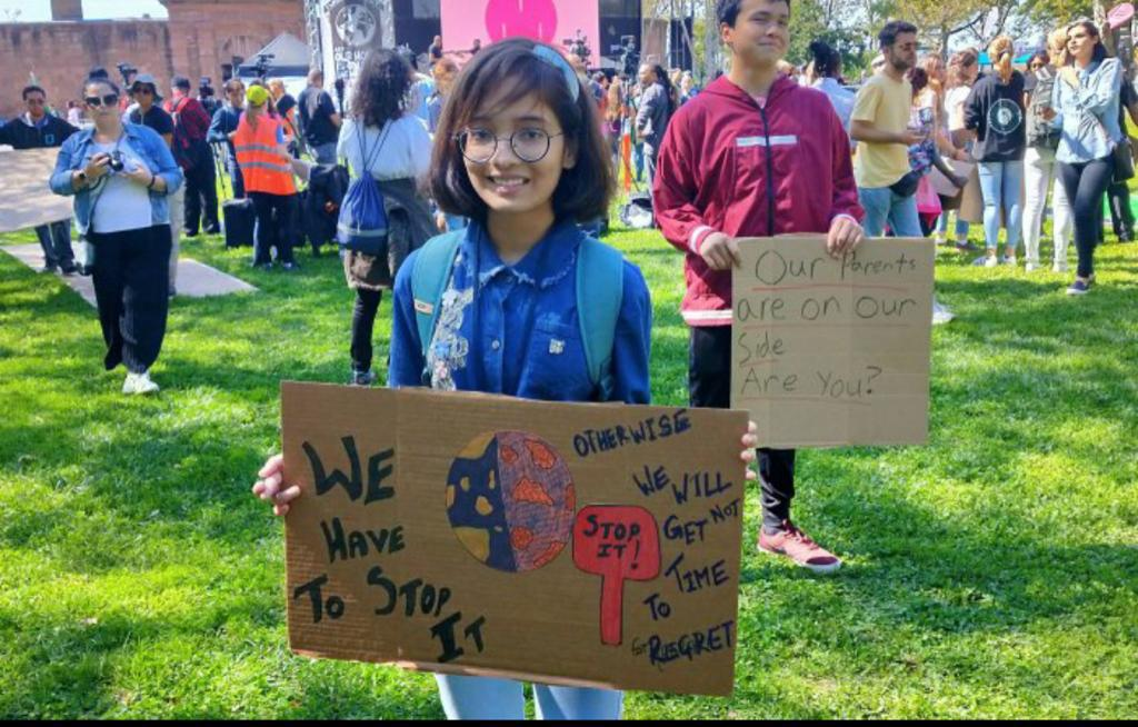 young female Activists